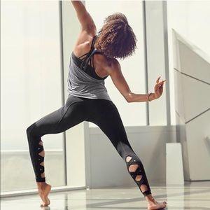 Athleta High Rise Cut Out Chaturanga leggings